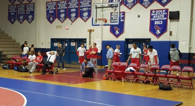Thomas S Wootton High School Coed Varsity Wrestling beat Albert Einstein High School 66-15