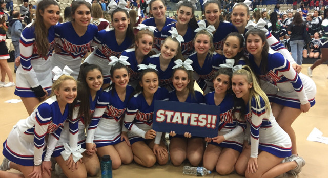 Wootton Cheer Making History