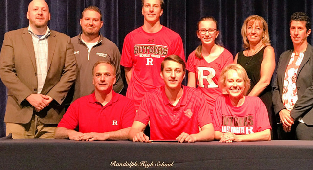 Congratulations Luke Nathan and his commitment to Rutgers University Basketball!