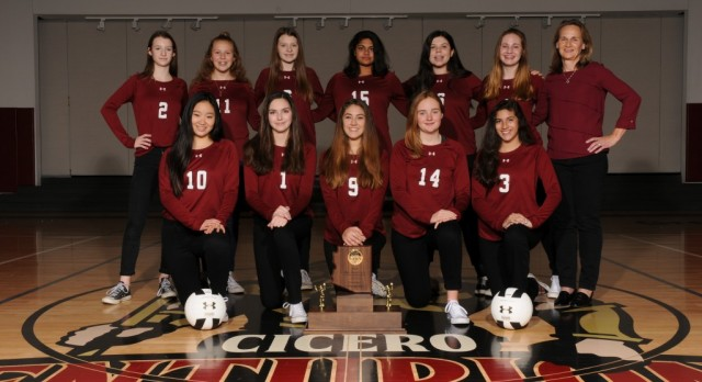 Cicero Preparatory Academy Girls Varsity Volleyball wins CAA Division 1 State Championship!