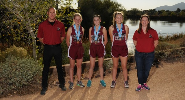 Varsity Cross Country Places 3 runners in top-10 at State Championships!