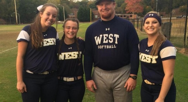 West Softball Represented well at State All-Star Game!