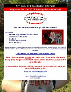 NFF Early Bird Registration Gift Pack