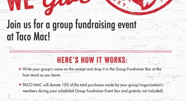 Boys Basketball Celebration/Fundraiser at Taco Mac Cumming