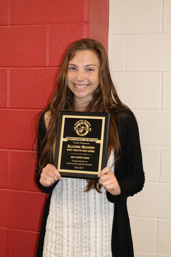 Allyson Drawdy-Service Award