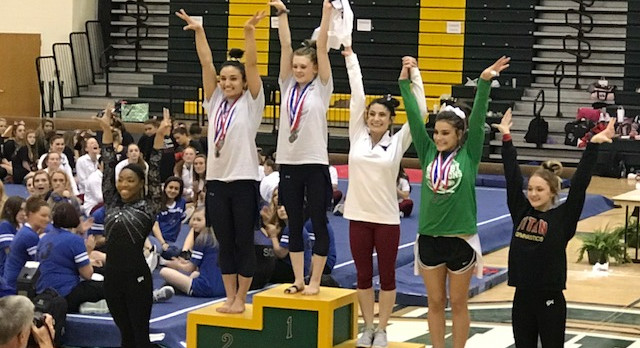AJC Names Sienna Schreiber State Gymnastics Player of the Year