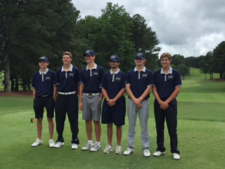 West Boys Golf Team ties school record with 4th place finish at State Championships