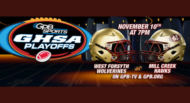 West v. Mill Creek Football Game on GPB Statewide on Friday!