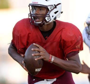 Marcellus Johnson swiftly embracing role as Roos QB