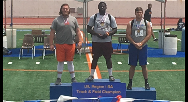 Bobby Smith takes Shot Put Gold at Region Track Meet