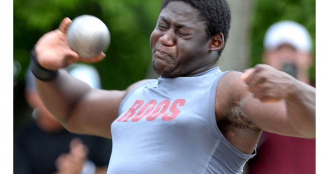 Roos' Smith sweeps throwing events at area meet