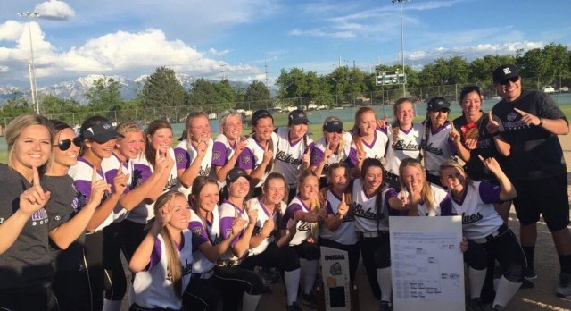 Riverton High School Varsity Softball beat West High School 13-11