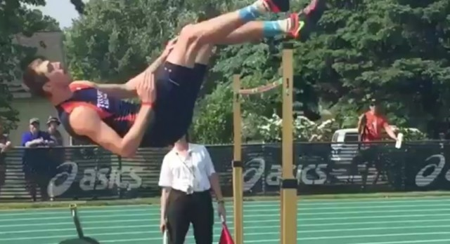 Swinnerton Finishes 9th in High Jump at State Championship