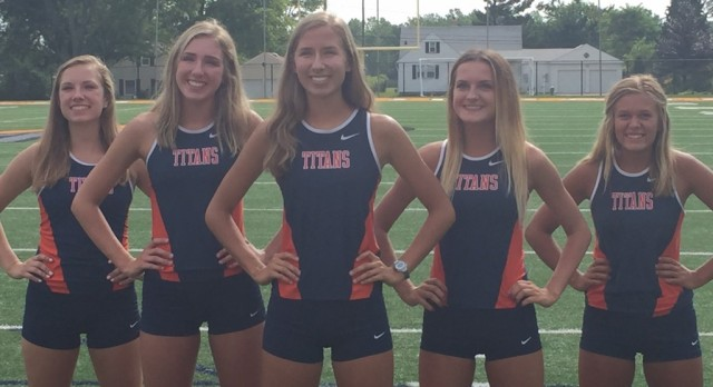 Berea-Midpark High School Girls Varsity Cross Country finishes 1st place
