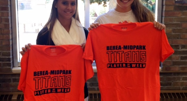 Dodd and Nedoma Titans Players of the Week