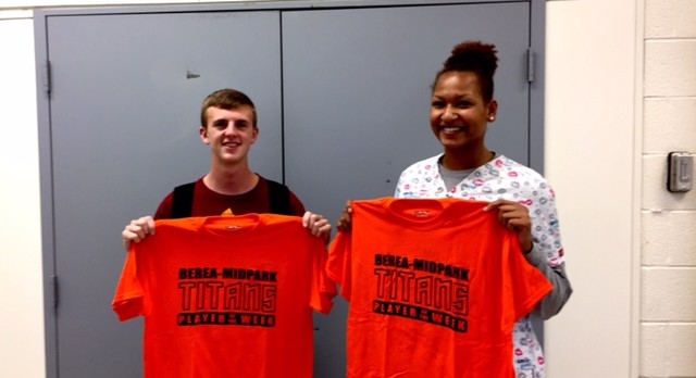 Eble and Harris Titans Players of the Week