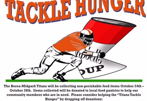 Titans Tackle Hunger