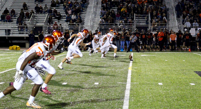 Titans Roll Past North Olmsted 63-7