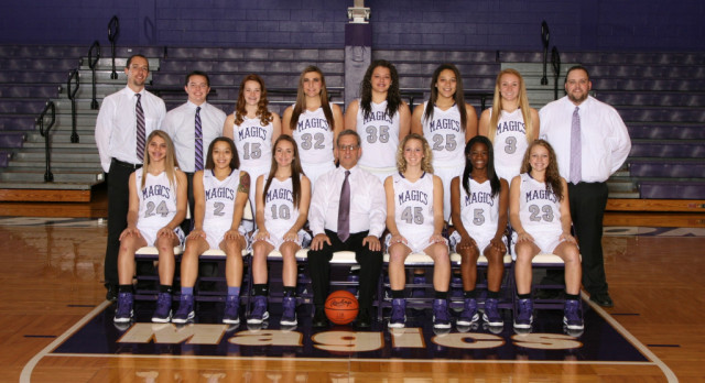 Lady Magics Set to Play Aurora on Wednesday