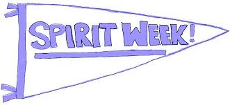 Homecoming Spirit Week Schedule
