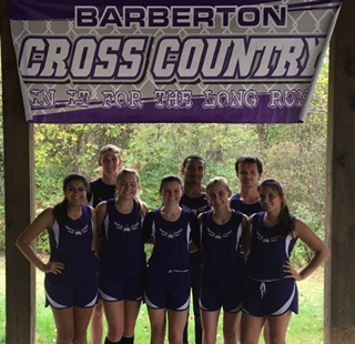 Magics Cross Country Team Shines on Senior Day
