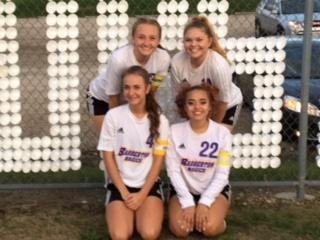 Girls' Soccer Wins on Senior Night