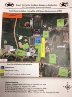 Green Parking Map