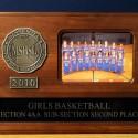 2010 Girls Basketball Sub-Section 4AA 2nd Place