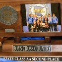2015 Boys Cross Country State Class AA 2nd Place