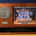 2015 Girls Basketball Section 6AAA Second Place