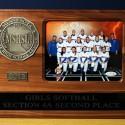 2013 Girls Softball Section 4A 2nd Place