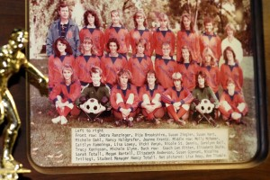 1982 GIrls Soccer State Second Place