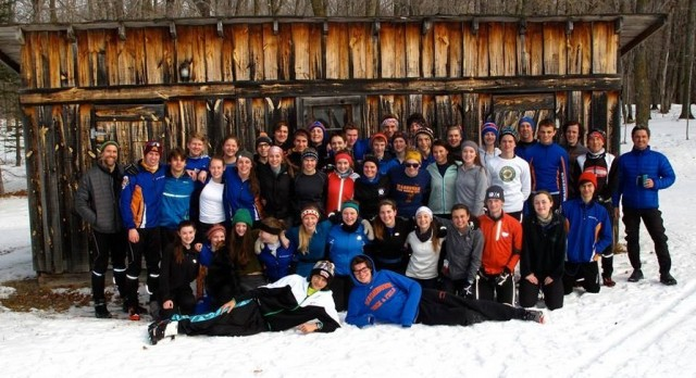 Nordic Ski Team Finishes 2nd in Conference
