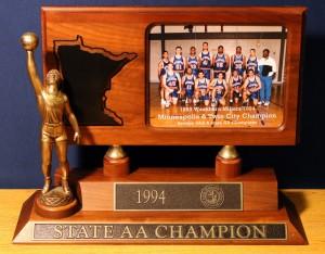 1994 Boys Basketball State Champions
