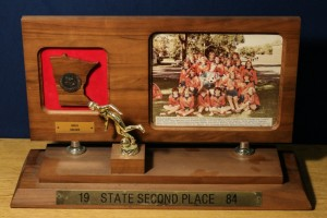 1984 Girls Soccer State Second Place