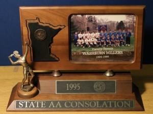 1995 Boys Tennis State Runner-Up