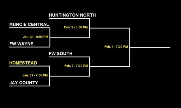 Girls Basketball Opens Sectional Play Jan. 31st