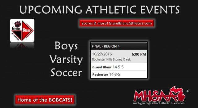 Boys Soccer: MHSAA Tournament