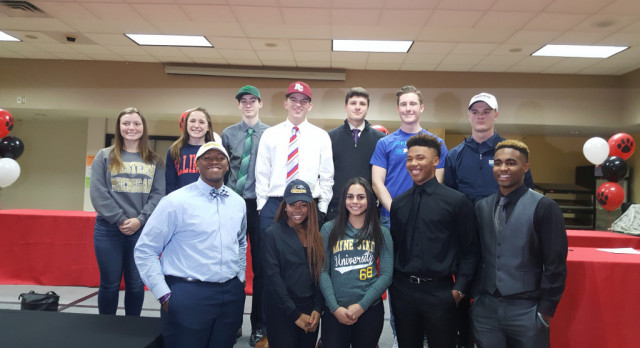 Student Athletes Sign NCAA Letters of Intent
