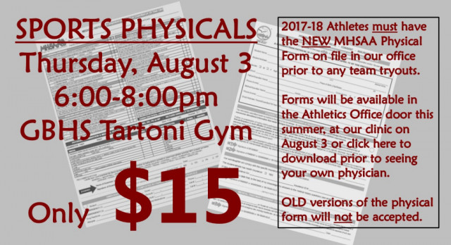SPORTS PHYSICALS CLINIC