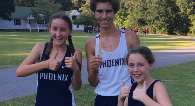PHOENIX ATHLETE TAKES FIRST AT SANTEE CANAL CROSS COUNTRY MEET
