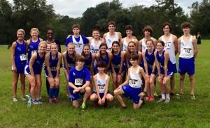 2015 Cross Country team