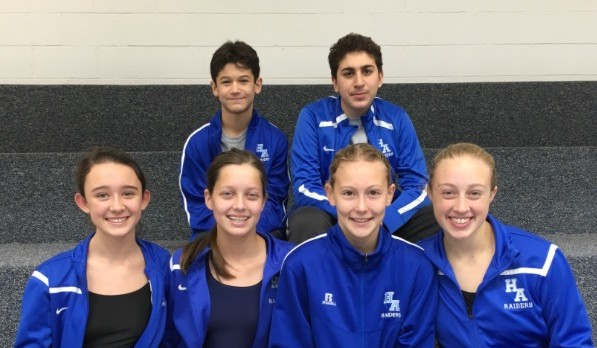 A Day of Firsts for HA's Swim Team
