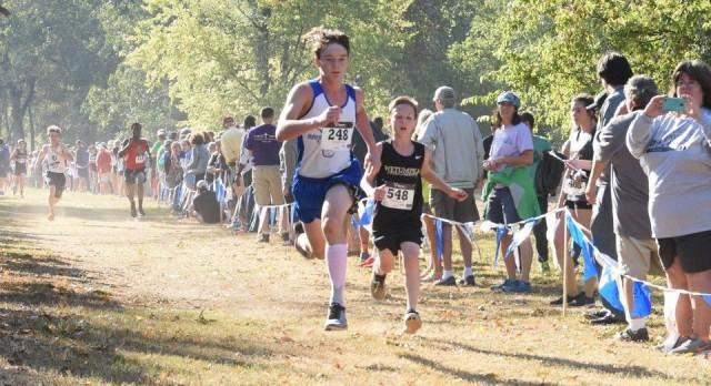 Cross Country Raiders run in Montgomery