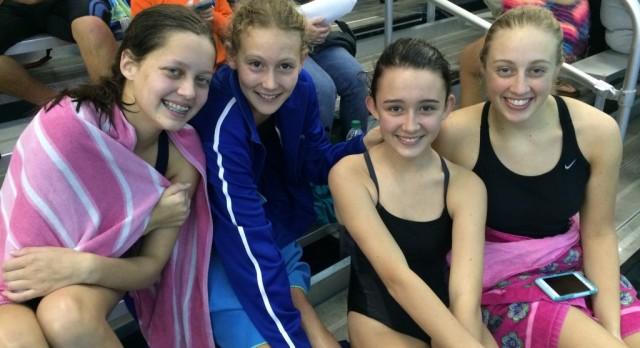 State Bound for HA Swim Team!
