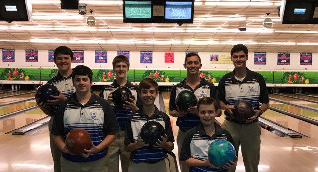 Boys Bowling finish Area Champions and advance to the AHSAA Regional State Playoffs