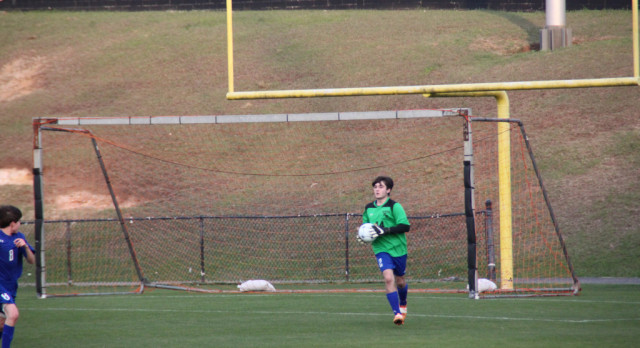 Houston Academy Boys Junior Varsity Soccer falls to Andalusia High School 2-1