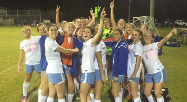 Houston Academy Girls Varsity Soccer beat Providence Christian School 4-2