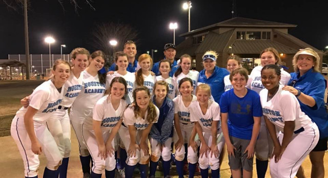 Houston Academy Varsity Softball beat Daleville High School 13-2
