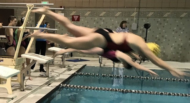 Girls Swim and Dive had an outstanding meet